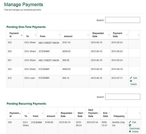 Payment Center | DCU