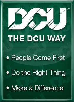 DCU Way Graphic