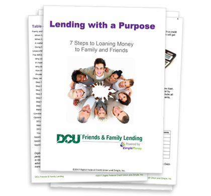 DCU Friends and Family Lending Powered by ZimpleMoney