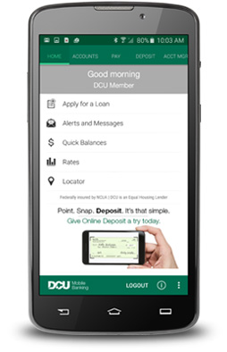 Mobile Banking on a Droid