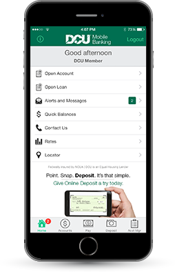 mobile banking dcu massachusetts new hampshire