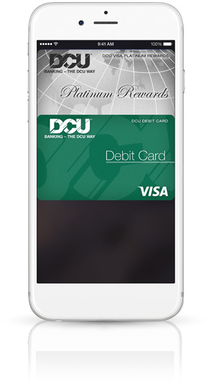 A safe, convenient way to pay with your DCU Cards