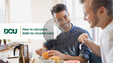 How to calculate debt-to-income ratio video